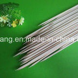 Bâtons de BBQ et vente en gros en bambou de brochette de fleur de Chine