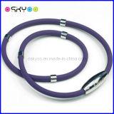 Form-Dame-Titanionenmagnetische Therapie-Halsketten (P076)