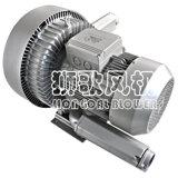 Cnc-Stich-Maschinerie-Doppelt-Stadiums-industrieller Turbulenz-Luft-Gebläse-Antreiber