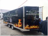 (CE) carro móvil a estrenar del alimento de la fuente promocional de la fábrica