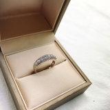 Trendy Klassieke Ring van de Steen Zircon voor Vrouwen met Messing