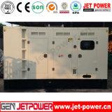 gerador elétrico Diesel Lovol 125kVA do motor Soundproof de 100kw