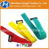 Fita de nylon do Macio-Gancho de Velcro da forma & do cabo de laço