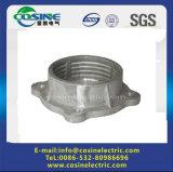 Base da flange para o isolador da porcelana/encaixe de alumínio