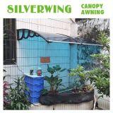 Baldacchino libero del coperchio del patio del balcone del policarbonato del Gazebo per le tende del portello (YY-H)