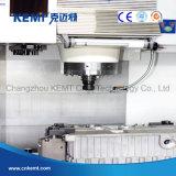 (MT100) Mmoendo e gravando o centro fazendo à máquina vertical do CNC