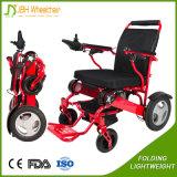 Fauteuil roulant se pliant électrique de déplacement d'utilisation pour des handicapés