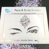 De acryl Stickers van het Gezicht van de Stickers van de Tatoegering van Eco van de Stickers van de Diamant van Stickers (S006)