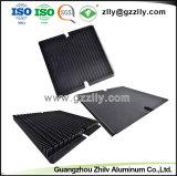 Aletas de refrigeração preto para o dissipador de calor em alumínio em pó Tansistor LED