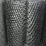 建物の正面の鋼鉄金属の網によって拡大される金網