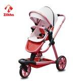 De Sterke anti-Misvorming van de Buis van het aluminium van de auto-Auto van de Baby met Frame en Regelmatige Zetel