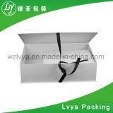 Logo personnalisé papier carton cadeau cosmétique Emballage avec ruban