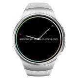 スマートな腕時計の心拍数のモニタサポートSIM TFカードの目覚し時計Bluetoothはリスト・ストラップを遊ばす