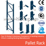 Het op zwaar werk berekende het Stapelen Rekken van de Pallet van het Staal/de Regelbare Industriële Plank van het Metaal van de Oplossingen van de Opslag