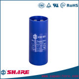 Motorstartkondensator-einphasiger elektrolytischer Aluminiumkondensator CD60