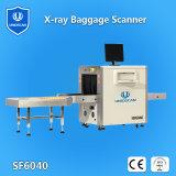 40mm d'acier 6040 Parcelle d'inspection des bagages de rayons X pour les militaires du scanner, le gouvernement, le bâtiment commercial