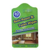 도매 주문 Eco-Friendly 성숙한 침실과 화장실 생물 분해성 젖은 청소 닦음