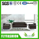 Solo de la oficina de diseño moderno sofá de cuero negro (a-22)