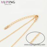 44439 plateerde het Nieuwe Ontworpen Goud Xuping Trendy Westelijke Lange Halsband van de Legering van de Ketting