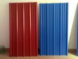 Folha ondulada colorida moderna da telhadura de Ibr da ligação