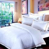 Fonte de linho do hotel luxuoso do quarto do jacquard
