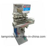 TM-S4 haute qualité à 4 tasse d'encre couleur Pad Machine avec service de navette de l'imprimante