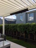 Calefactor de infrarrojos terraza pérgola