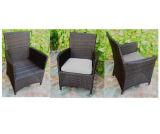 Insiemi di vimini della mobilia del rattan con 5 sedi per la mobilia esterna di svago dell'hotel