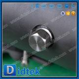 Bloque del doble del acero inoxidable de Didtek y vávula de bola del corrimiento