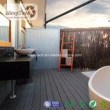 O WPC Deck Interior 145*21mm, uma varanda Poplur Material de decoração