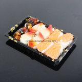 Blasen-Nahrungsmitteltellersegment-Sushi des Soem-WegwerfplastikPVC/PP/Pet/PS/Cakies/Biskuit-Imbiss-Blasen-Tellersegment