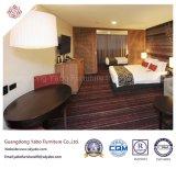 Ausgezeichnete Hotel-Schlafzimmer-Möbel mit hölzernem doppeltem Bett (YB-H-2)