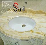 Banheiro amplo lavatório Undermount Cerâmica Pia
