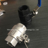 Investing Casting carbon Steel 2 Pieces ball valve