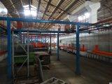 A linha de produção de pulverização para prateleiras dos supermercados