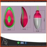 電気バイブレーターの女性の健康の製品のための振動のジャンプの卵10の速度Gの点のClitoral点