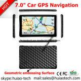 """Nuevo 7.0"""" coche navegación GPS con WINCE 6.0 Sistema de navegación GPS, transmisor de FM, AV-in para el estacionamiento de la cámara de navegación por satélite del navegador GPS, Bluetooth, dispositivos GPS Tracker"""