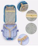 El bolso de la carretilla del recorrido del niño de los bolsos del equipaje del vuelo de los cabritos del peso ligero del modelo nuevo de Bubule continúa en las ruedas