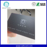 Gutschrift-Größen-kundenspezifische Plastikuhr-Garantie-Karte