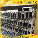 Protuberancia de aluminio con trabajar a máquina para las lumbreras