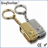 128GB movimentação do flash do USB do giro do metal do USB 3.0 mini (XH-USB-118)
