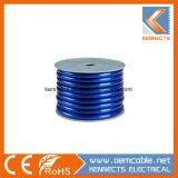 Зачищенные/консервированных прозрачных автомобильный кабель питания 18AWG на 0AWG