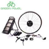 Greenpedel 36V 250W Kit bicicleta eléctrica con batería de rack