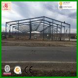 Entrepôt ou atelier en acier de bâti de l'espace de grande envergure en Roumanie
