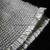 Le silicone Vermiculite Tissu enduit d'aluminium résistant aux températures élevées sur le fil en acier inoxydable résistant au feu d'insérer le tissu de verre