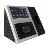 Dispositivo de Impressão Digital Facial biométrico em vários idiomas com saída Wiegand de Apontamento de Frequência