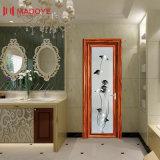 Diseño de aluminio de la puerta del cuarto de baño del marco del precio barato