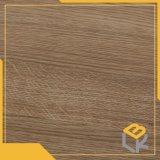 Het bruine Ontwerp die van de Korrel van het Eiken Hout Decoratief Document voor Vloer, Deur, de Oppervlakte van het Meubilair van Chinese Fabriek afdrukken