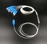 Red inalámbrica para el divisor de fibra óptica del PLC 1X8 Blockless para los sistemas de CATV
