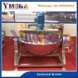 Nahrungsmittelmaschinen-Fabrik-Zucker, der Potenziometer-Mantelkessel-Maschine kochend schmilzt